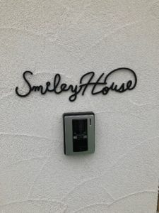 SmileyHouse表札