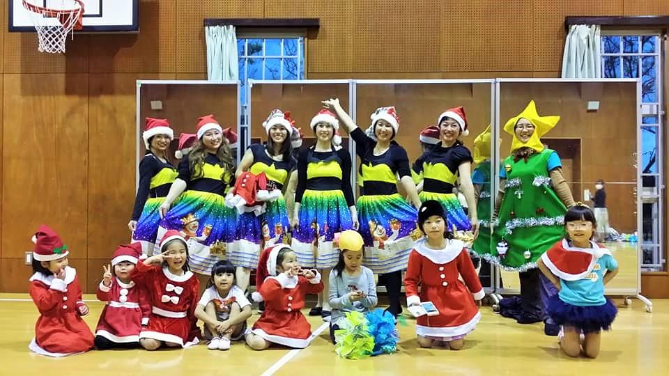 新浦安RainbowSmileyKidsのクリスマス会