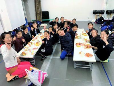 BLAZERS mini camp 朝食