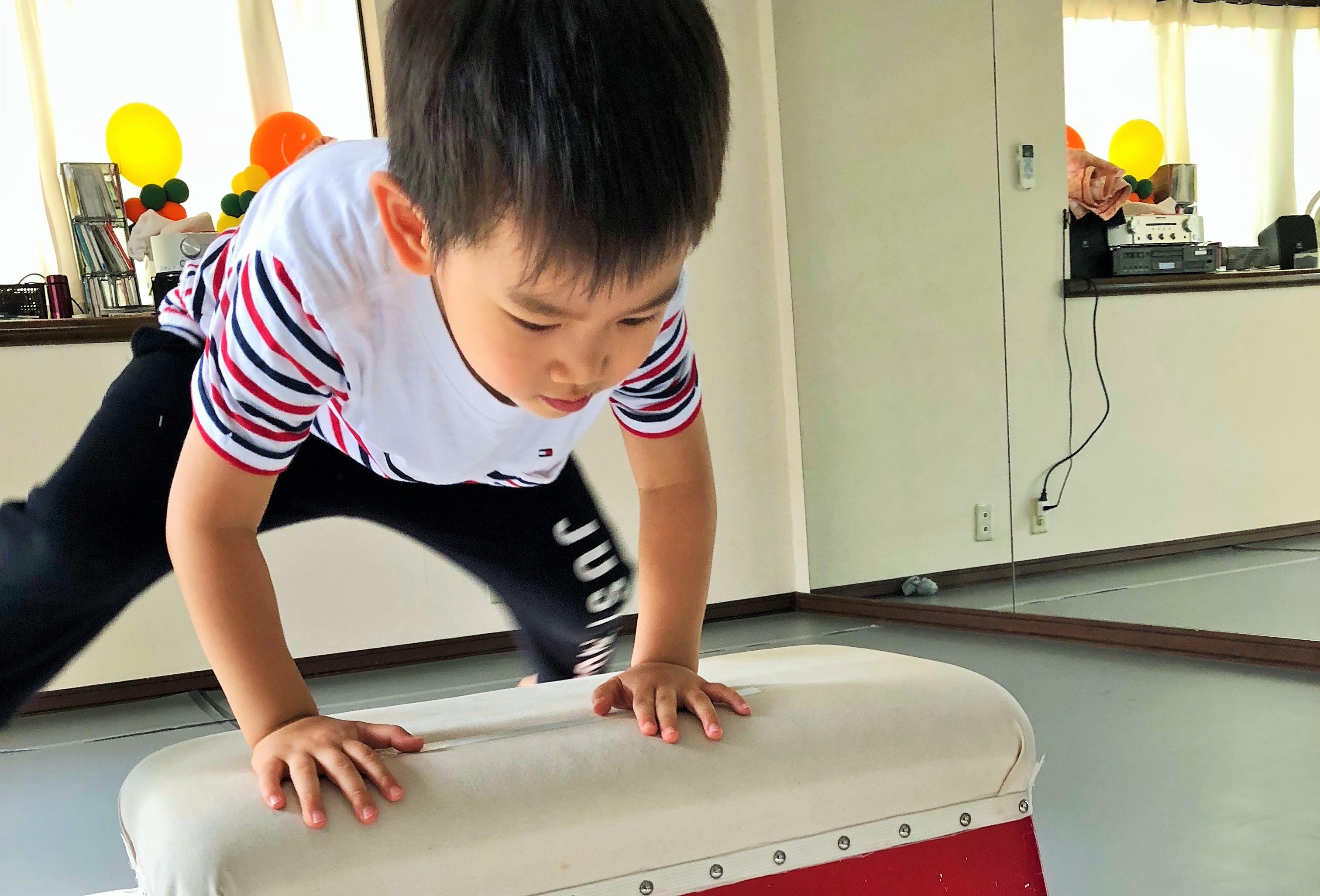 未就園児のとび箱