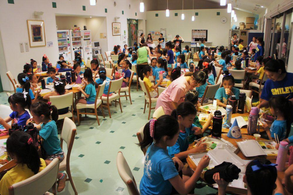 Summer Camp 夕食