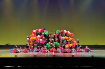 Stars Smileyファミリーおさらい会&新浦安Rainbow Smiley 10周年記念発表会 RS全員集合写真
