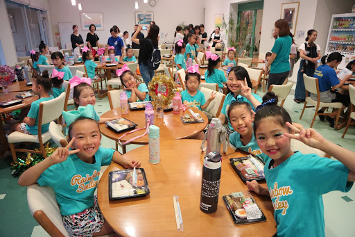 RainbowSmiley夏合宿の夕食