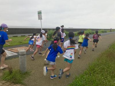 RainbowSmiley夏合宿 マラソン