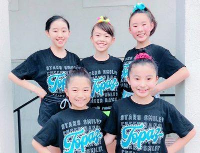 RED SPARKLE /Stars Smiley TOPAZ(ユース大会選抜チーム)