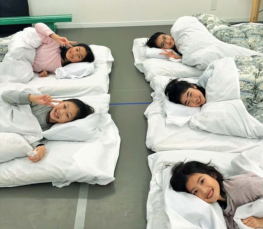 Youth合同合宿 就寝タイム