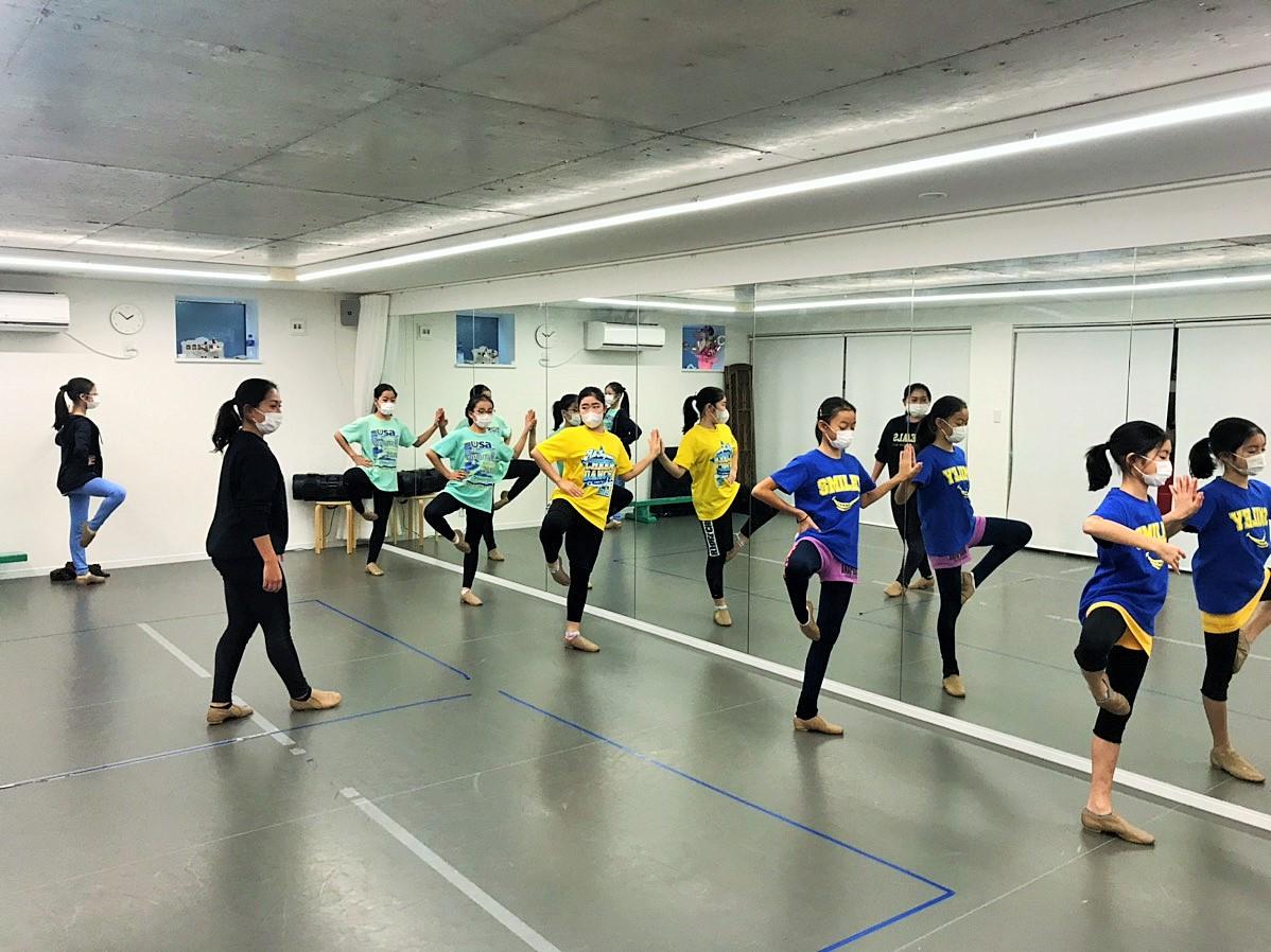 Youth合宿 バレエのレッスン