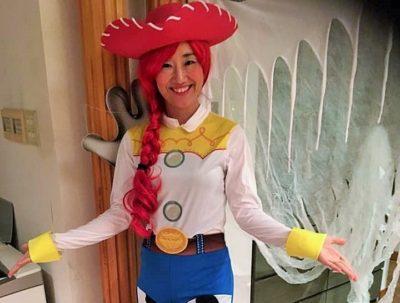綾子先生の仮装