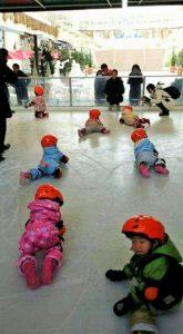 長ぐつスケート教室