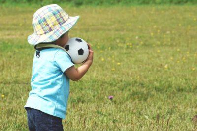 未就園児のボールあそび