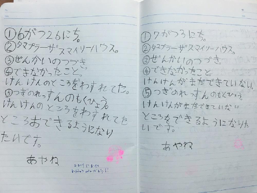 チアノート 1年生 Ayane