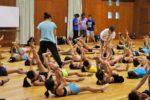 体操のレッスン