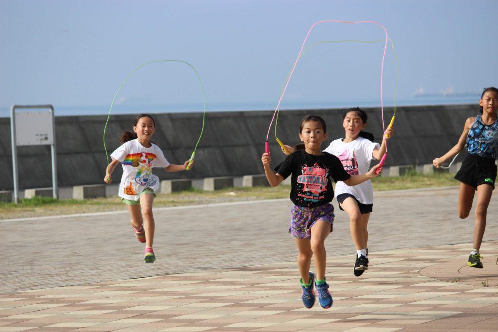 SummerCamp縄跳びトレーニング