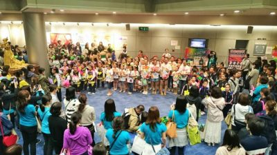 Stars Smileyファミリーおさらい会&新浦安Rainbow Smiley 10周年記念発表会 ラストの集合写真