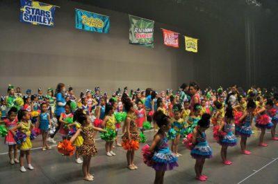 Stars Smileyファミリーおさらい会&新浦安Rainbow Smiley 10周年記念発表会のリハーサル