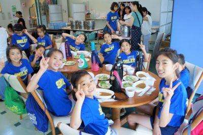 Summer Camp 2019 昼食
