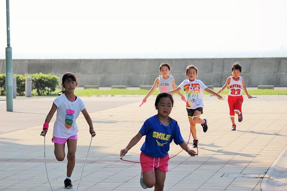 Summer Camp 2019 縄跳び