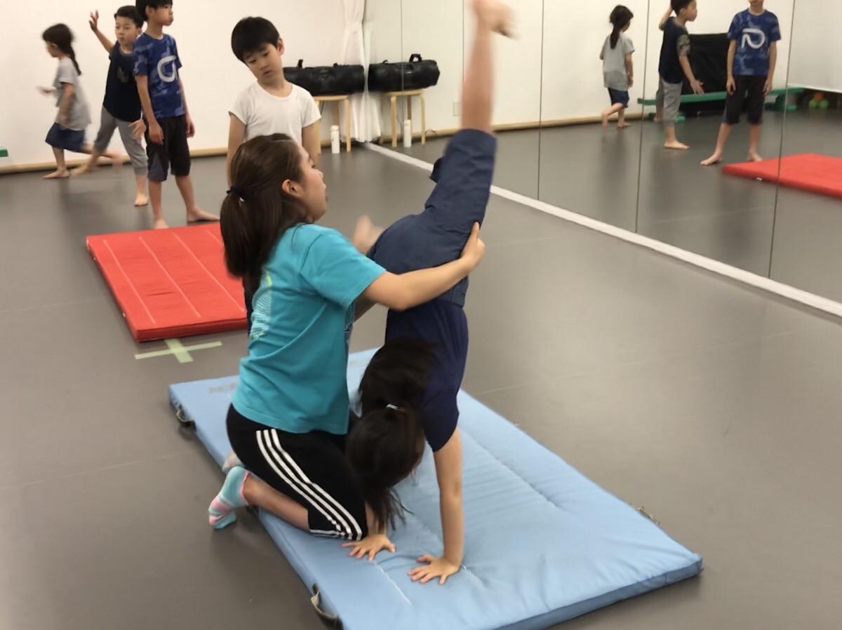 小学生体操教室の画像