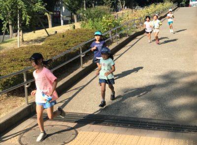 たまプラーザ BLAZERS miniの合宿のマラソン