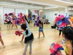 たまプラ体験会のダンスの様子
