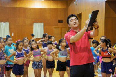 トレーナーによるトレーニング